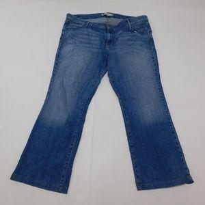 Levi's 20W Blue Denim Jeans 590 Bootcut Cotton Ble